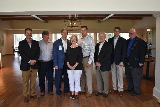 Church Home Officials Celebrate New Dining Rm-1