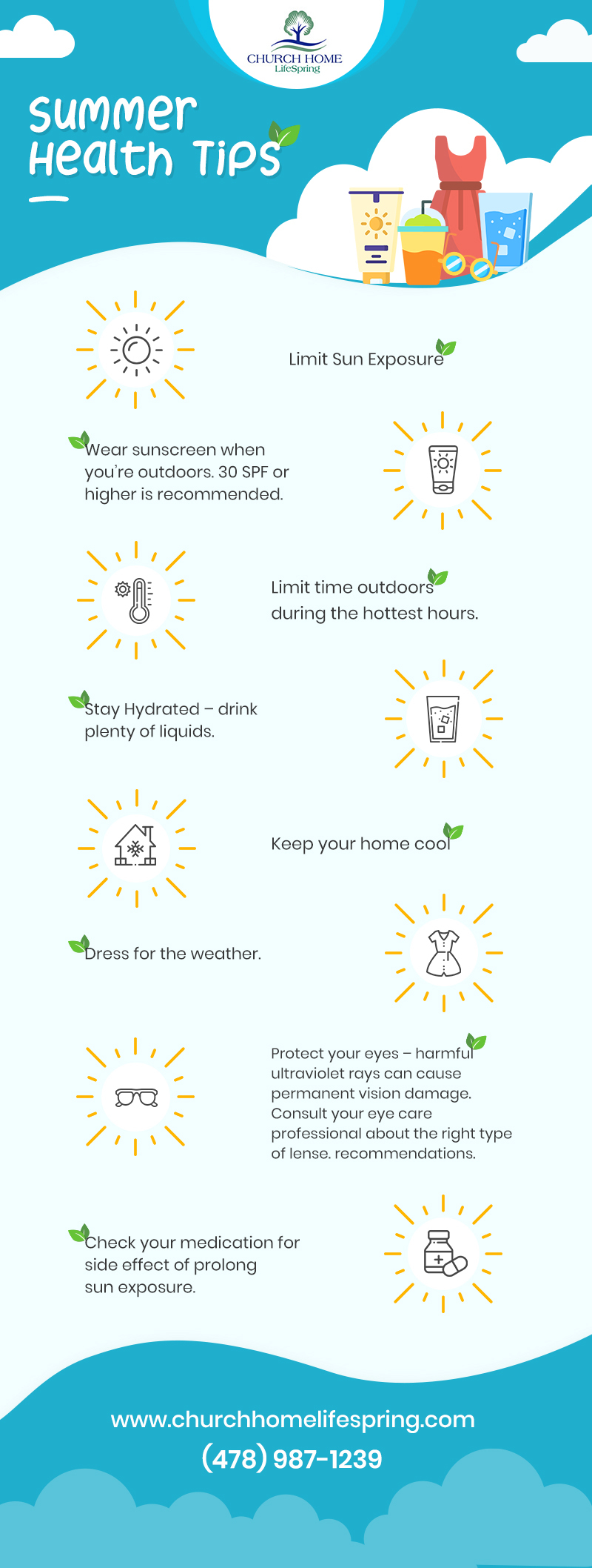 Church_Home_Infographic_Summer Tips